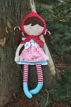 Little Red Riding Hood by sewdeerlyloved, via Flickr