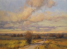A Road Well Traveled by Kim Casebeer Oil ~ 12 x 16