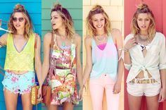 Fun and Funky Summer Outfits, Super Cute