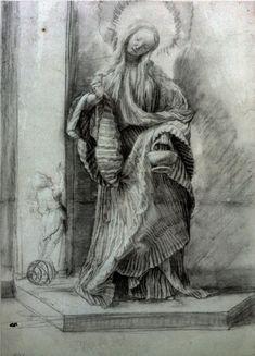 Saint Dorothy, c. 1511, Matthias Grünewald