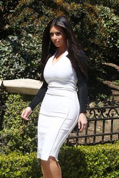 Kim Kardashian Should Have Worn This Dress When She Got Flour Bombed
