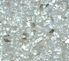 Platinum Reflective 1/4 Inch Fire Glass