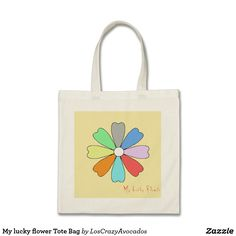 My lucky flower Tote Bag