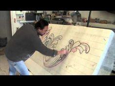 Architectural Polystyrene Styrofoam Carving by Sculpture Studios - Diy Wallart Plus Sculpture Techniques, Art Techniques, Pop Art Bilder, Foam Carving, Art Sculpture, Steel Sculpture, Halloween Tombstones, Prop Making, Stage Design