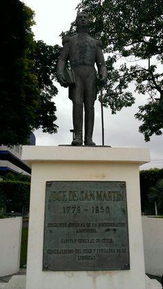 Jose de San Martin, Plaza Argentina, San Salvador, El Salvador