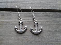 Anker Ohrringe maritim von Küstenmädel auf DaWanda.com