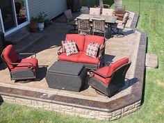 stamped-concrete-patio-deck-ideas-patio-landscape-outdoor ... - Stamped Concrete Ideas Patios