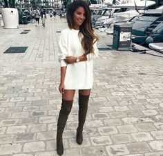 126 Best Thigh high boots outfit images