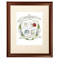 Personalized Wedding Crest - for honoring your wedding day.