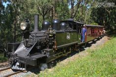 The Puffing Billy Railway is a narrow gauge 2 ft 6 in (762 mm) gauge heritage railway in the Dandenong Ranges near Melbourne, Australia.