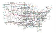 Depicts my love for public transportation (tube map) and the US.