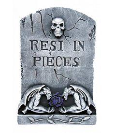 Grafsteen 'Rest in piece'