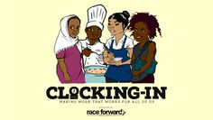 Race Forward's Clocking-In project is an innovative, interactive, multi-media tool that shows racial and gender inequities in the restaurant, retail, and domestic industries.