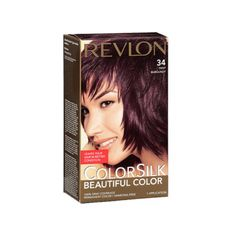 Revlon Colorsilk Beautiful Color Permanent Hair Color, 34 Deep Burgundy For just the bottom half. Deep Burgundy Hair Color, Skin Allergy Test, Revlon Colorsilk, Gorgeous Hair Color, Black Henna, Color Kit, Creme Color, Color Your Hair, Permanent Hair Color