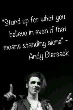 Andy Biersack from Black Veil Brides