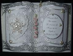 Wedding Book Card https://www.facebook.com/HandmadeKeepsakeRagDolls
