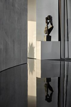 矩阵纵横 | 徐州美的天誉樱花美学空间馆-建e室内设计网-设计案例 Matrix Design, Sculpture Art