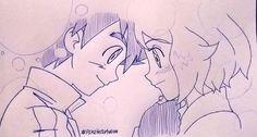 Beautiful <3 Amourshipping ^.^ <3