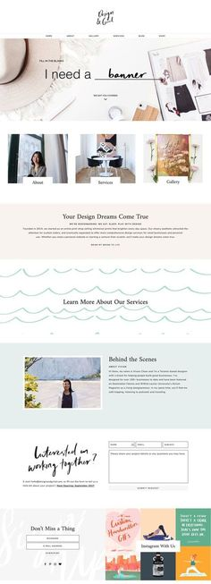 66 new Ideas design layout website templates wordpress theme Design Websites, Web Design Trends, Web Design Tips, Blog Design, Diy Design, Interior Design, Room Interior, Blog Website Design, Interior Shop
