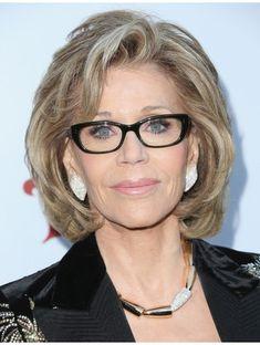 Jane Fonda Lace Front Bob Wig