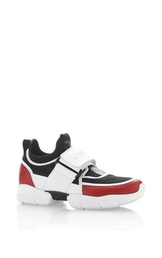 Strap Sneaker by MSGM Now Available on Moda Operandi