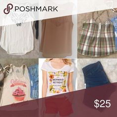 Small bundle Includes everything shown, all are size small Express Tops