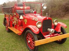 1923 Graham Brothers Fire engine....