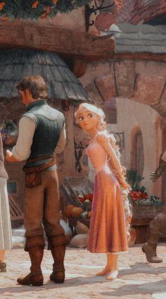 Cute Disney Pictures, Disney Princess Pictures, Disney Princess Rapunzel, Disney Tangled, Arte Disney, Disney Art, Cartoon Icons, Girl Cartoon, Cute Cartoon Wallpapers