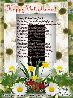 valentines quirky poems