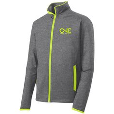 ST853 Stretch Contrast Full-Zip Jacket