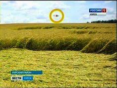 Rússia: Fotografado UFO próximo a um Crop circle que apareceu na região de Kursk