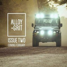 Our friends, @alloyandgrit's second journal will be available month. #landrover #defender110csw #landroverdefender #landroverphotoalbum #alloyandgrit #4x4