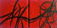 "Artist:  Tiffany Joy Villahermosa New York, 2013 Acrylic on Canvas (4"" x 4"") 8"" x 4"" Diptych $40 for pair Tiffany, Poetry Art, Wood Paneling, Creative Inspiration, Joy, Paintings, Canvas, Artist, Color"