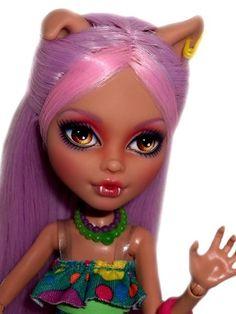 ☠ OOAK Custom Monster High Doll Repaint Howleen Wolf Goth BJD Werewolf ☠ | eBay