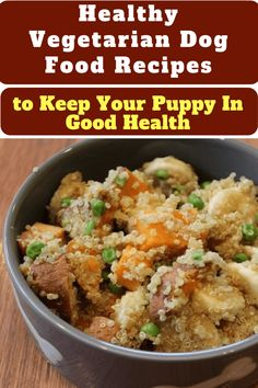 Healthy Vegetarian Dog Food Recipes to Keep Your Puppy In Good Health. - Dog Food - Ideas of Dog Food Dog Biscuit Recipes, Dog Treat Recipes, Healthy Dog Treats, Baby Food Recipes, Healthy Recipes, Vegan Dog Food, Vegetarian Dog Food Recipe, Homemade Dog Cookies, Homemade Baby Foods