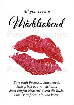 Poster Maedelsabend