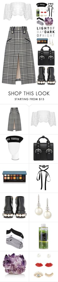 """""""Hodge Podge"""" by finding-0riginality ❤ liked on Polyvore featuring Oscar de la Renta, Miguelina, Vivienne Westwood, Anastasia Beverly Hills, Lipsy, Nicholas Kirkwood, Belpearl, adidas, Korres and McCoy Design"""
