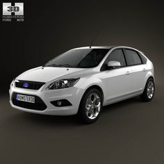 Ford Focus hatchback 5-door 2009 3d model from humster3d.com. Price: $75
