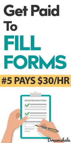 17 Trusted & Free Form Filling Jobs [Up to $10/Form] #formfillingjobs #getpaidtofillforms #sidehustles #freeformfillingjobs #trustedformfillingjobs #sidejobs #onlineformfillingjobs #freeformfilling #formfilling #forms #typingjobs #freeonlinetypingjobs #onlinejobs Work From Home Careers, Legitimate Work From Home, Make Money From Home, Make Money Online, How To Make Money, Flexible Working, Making Extra Cash, Part Time Jobs, Financial Tips
