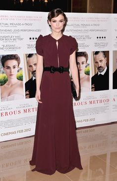 "Keira Knightley in Burberry Prossum (""Serious Method"" Premiere)"
