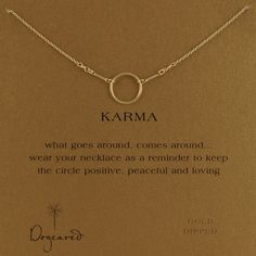 finally a GOOD karma statement thats not rude mean or spiteful ... want this!!!
