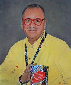 Jurek Owsiak Portret olejny na WOŚP, autor Tomasz Mrowiński