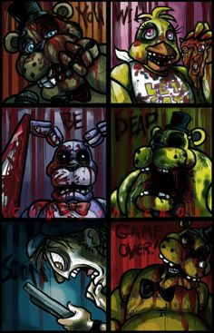 Fnaf: You Will Be Dead Soon by Cageyshick05 on deviantART