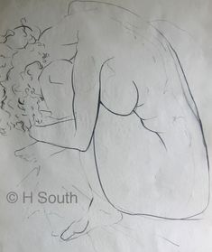 Figure Drawing With Line and Contour Male Figure Drawing, Figure Drawing Reference, Drawing Practice, Drawing Lessons, Life Drawing, Drawing Techniques, Anatomy Reference, Drawing Drawing, Figure Drawings