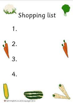 42 Ideas Fruit Shop Role Play Vegetables For 2019 New Fruit, Fruit And Veg, Fruits And Vegetables, Summer Fruit, Veggies, Garden Ideas Eyfs, Olivers Vegetables, Handas Surprise, Salad Packaging
