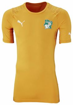 Ivory Coast 2014 World Cup Home and Away Kits Released - Footy Headlines  World Cup Shirts 3c5ce42e6