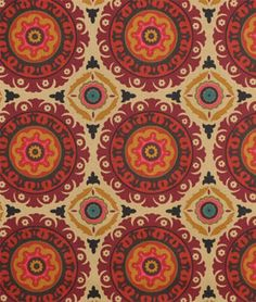 Shop Waverly Solar Flair Henna Fabric at onlinefabricstore.net for $15.15/ Yard. Best Price & Service.