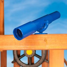 - Product Description - Product Specs - About - Look out for a whole new world of fun with our superb telescope that gives make-believe a new look. The unique polyethylene body has clear lenses at eac