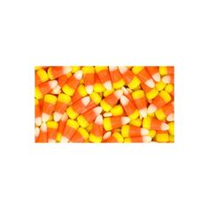 Candy Corn The Worst Halloween Candy in the History of Ever ❤ liked on Polyvore featuring backgrounds, food, orange and filler