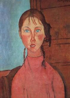 Modigliani's faces.